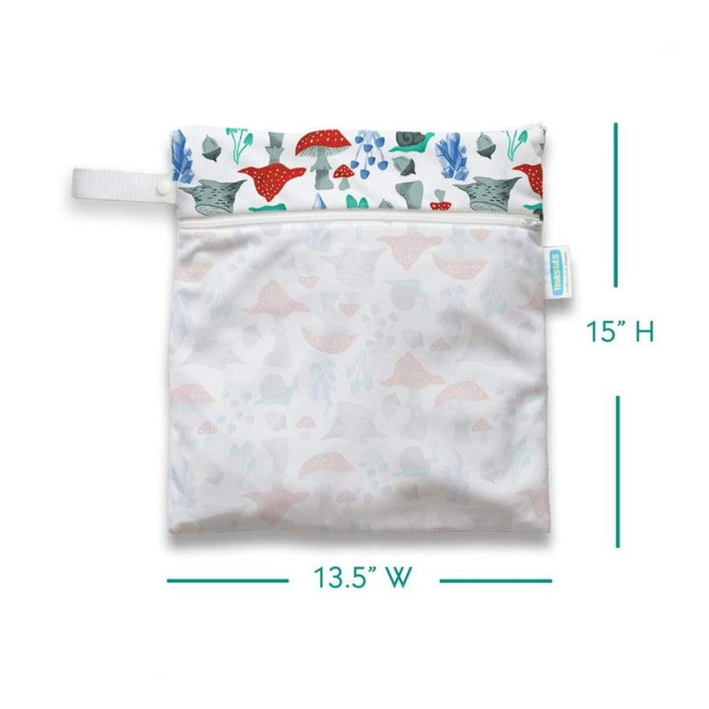 Thirsties Wet Dry Bag - Forest Frolic | Thirsties | Cloth Diaper Accessory