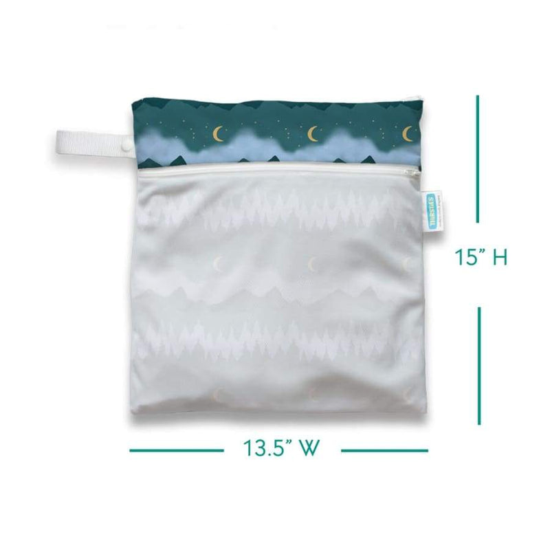 Thirsties Wet Dry Bag - Mountain Twilight | Thirsties | Cloth Diaper Accessory
