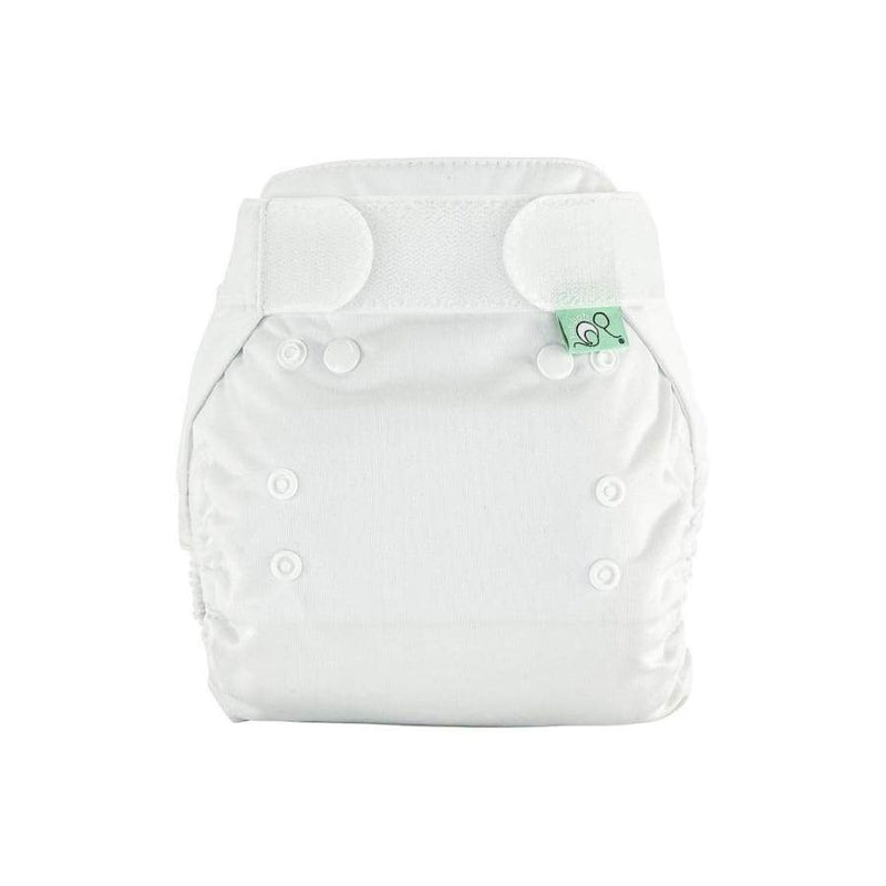 TotsBots PeeNut Size 2 Single Pack - White | TotsBots | Cloth Diaper