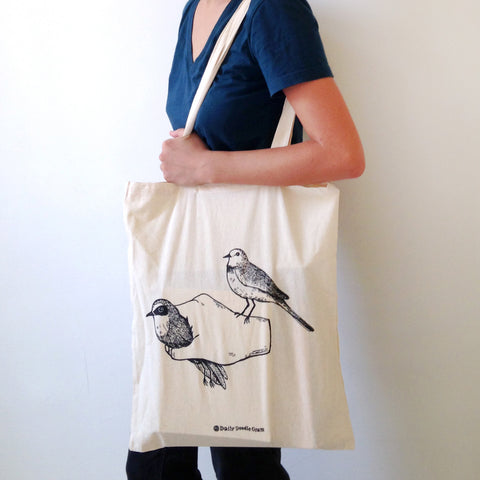 Birds In My Hand - Tote Bag