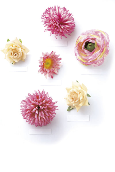 Spring Flowers Magnet Favor Box