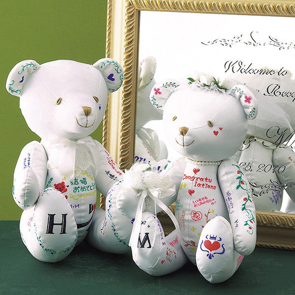 Wedding Message Bear
