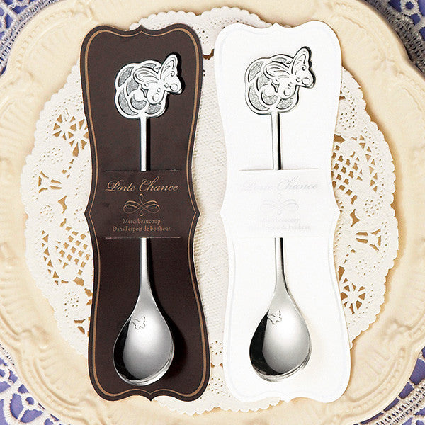 Scoop of happiness – Teaspoon – Rose & Butterfly (12pcs)