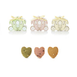 Cinderella Mini Horse Carriage Favor Box with Cookies (24pcs)