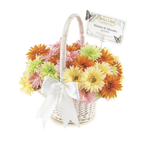 Gerbera Flower Pens Set