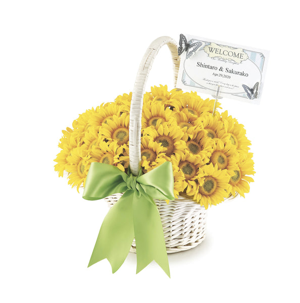 Sunflower Flower Pen Set
