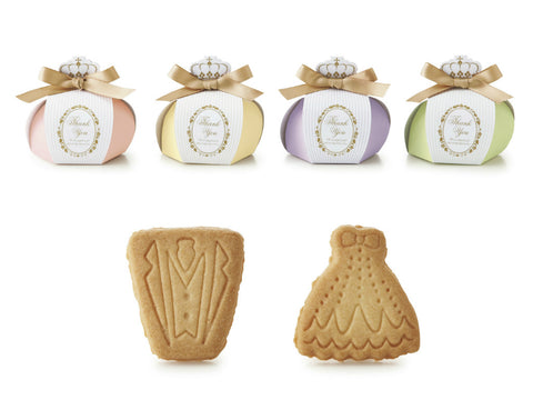 Crown Favor Box with Cookies