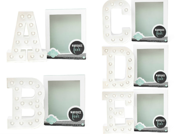 Marquee Letters Kit - Alphabet
