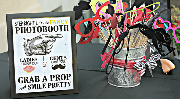Photo Booth Props (Set B)