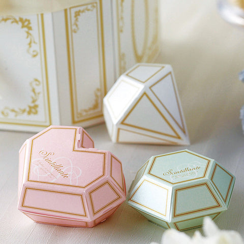Luxury Mini Jewel Favor Box