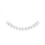 "Flag Garland – ""Just Married"" (Style A) White"