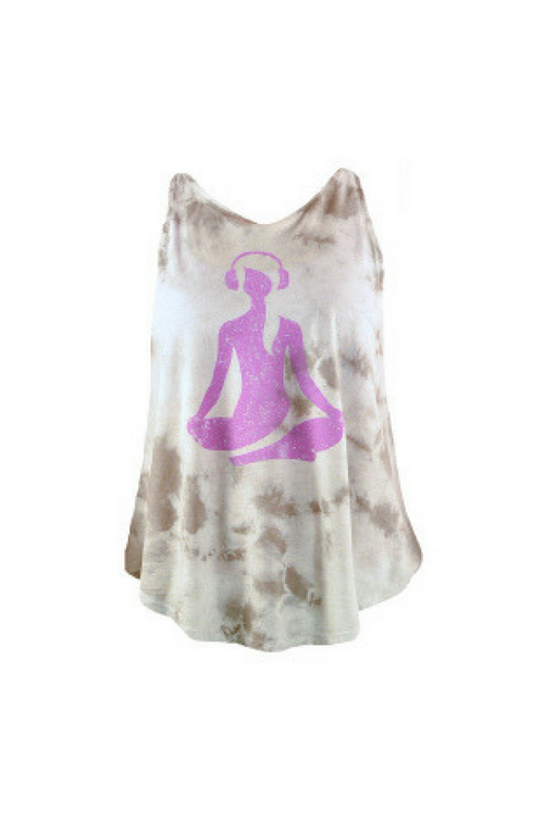 be nice tie-dye girl tank