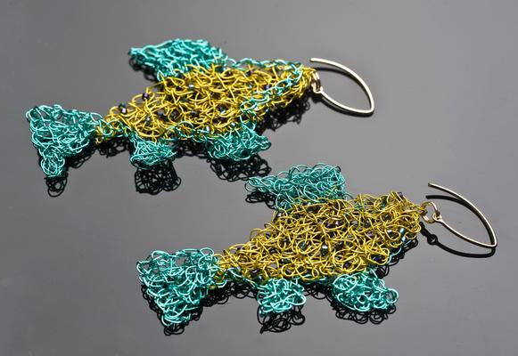 Garden-of-Fish Earrings