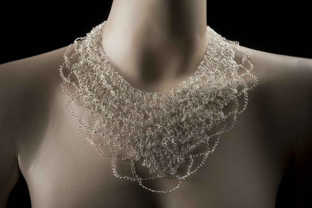 Tapered Picot Necklace