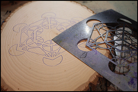 Making a Pendulum Board with Cristin - Artistcellar