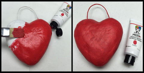 News Tagged Paper Mache Heart Artistcellar