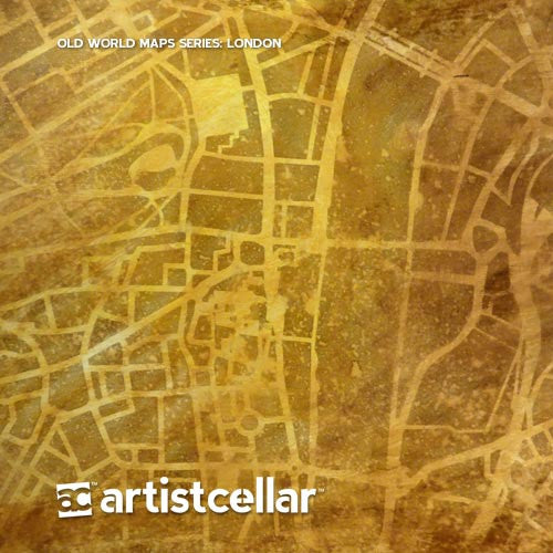 Artistcellar stencils old world maps series four stencil set gumiabroncs Choice Image