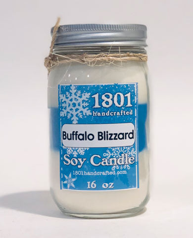 Buffalo Blizzard - 16 oz Soy Candle