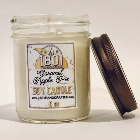 Caramel Apple Pie - 8 oz Soy Candle