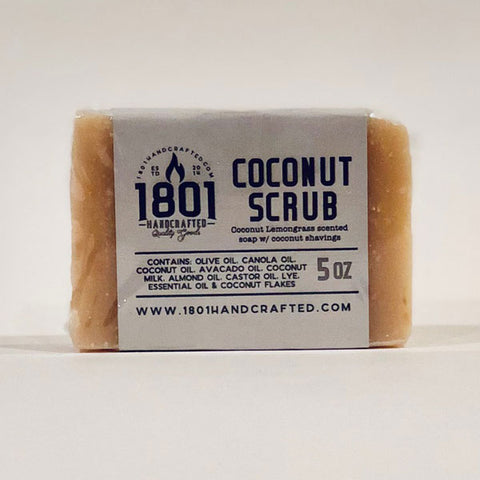 Coconut Scrub - 5 oz Soap