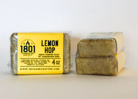 Lemon Hop - 4 oz Soap (2pk)