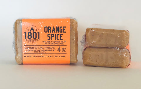 Orange Spice - 4 oz Soap (2pk)