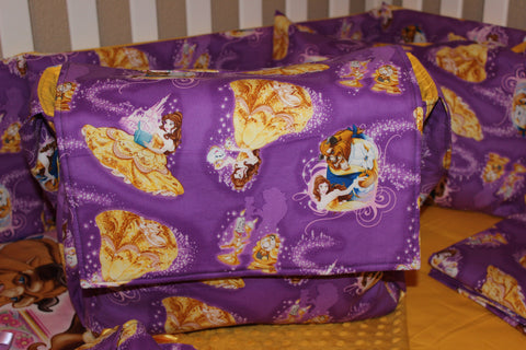 Beauty And The Beast Messanger Style Diaper Bag
