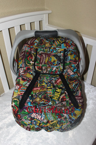 Marvel Comic Cozie Carrier Cover