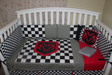 Dodge Ram 6 Piece Crib Bedding Set