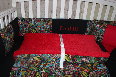 Marvel Comics Changing Pad Cover