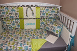 Elephant  5 Piece Crib Bedding Set