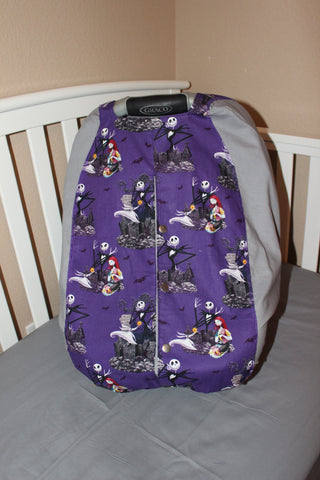Jack Skellinton Nightmare Before Christmas  Light Weight Carrier Cover