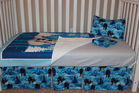 Frozen 5 Piece Crib Set