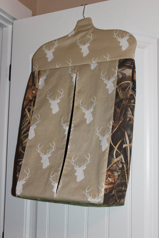 Deer Head and Max 4 Theme Diaper Stacker