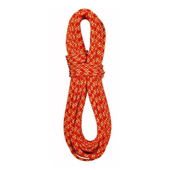 7.7mm Ice Floss Twin Dynamic Double-Dry 60m, BlueWater Ropes - Red/Yellow - Ropes - HoldBreaker - 2