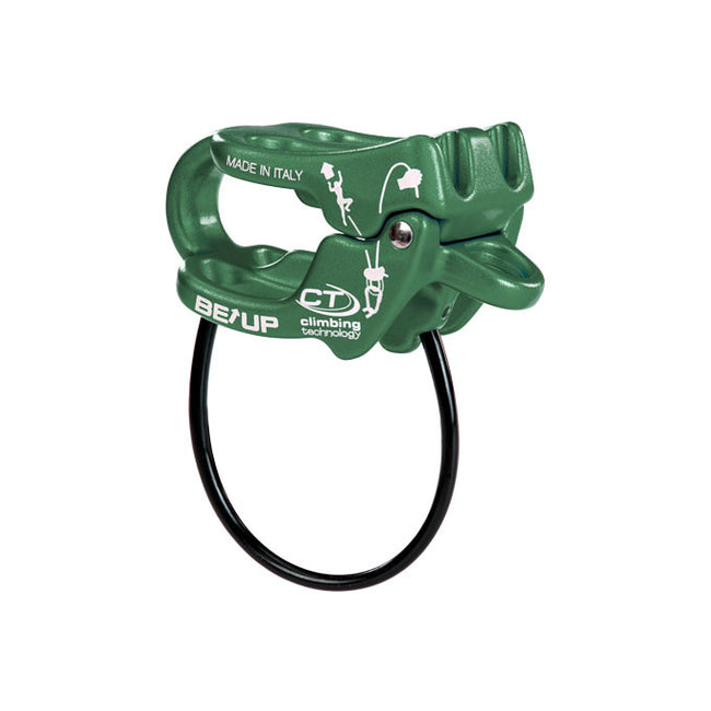 Climbing Technology Be Up belay device - Green - Belays - HoldBreaker - 1
