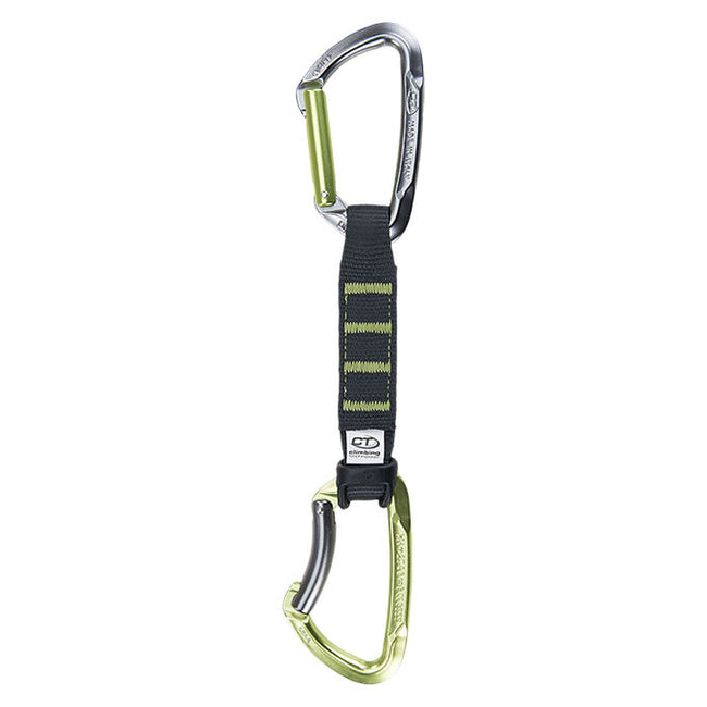 Climbing Technology Lime set NY PRO 12 cm Pack of 5 Quickdraws -  - Quickdraws - HoldBreaker - 2