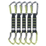 Climbing Technology Lime set NY PRO 12 cm Pack of 5 Quickdraws