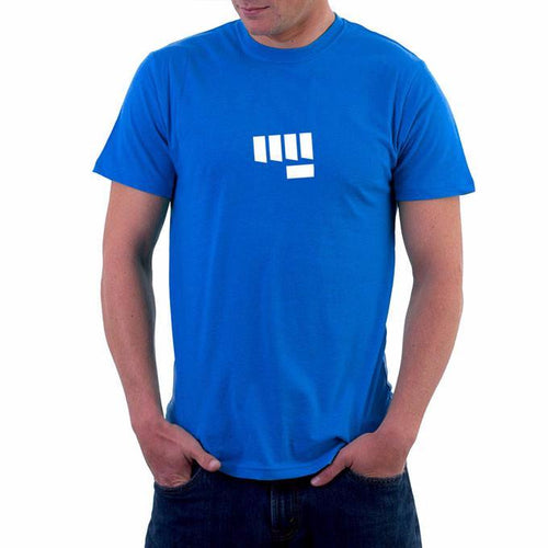 NoBetaNeeded Mens Tshirt Blue