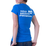 HoldBreaker women's 100% organic cotton t-shirt