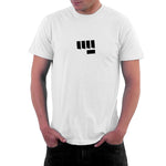 Fist Bump Mens Tshirt White