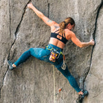 womens black climbing sports bra for women with broad shoulders
