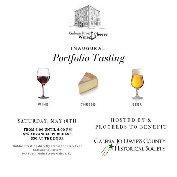 Galena River Wine & Cheese Tasting