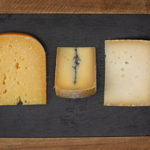 Add 3 Artisan Cheeses to Any Gift Box-Galena River Wine and Cheese