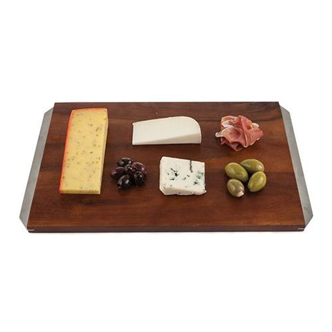 Admiral Acacia Wood Cheese Board by Viski - Galena River Wine and Cheese