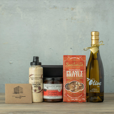 Bacon Lover's Gift Box-Galena River Wine and Cheese