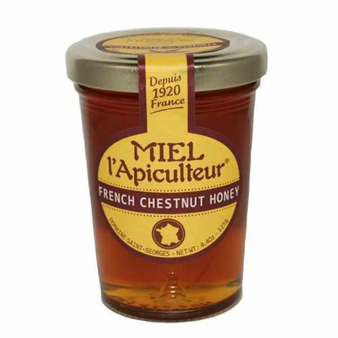 Bernard Michaud Chestnut Honey From Pyrenees 4.4oz - Galena River Wine and Cheese