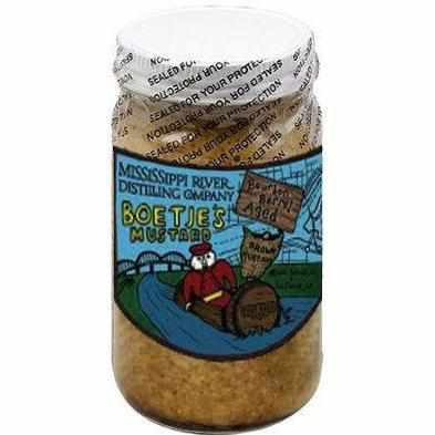 Boetje's Dutch Bourbon Barrel Aged Mustard 8.5 oz - Galena River Wine and Cheese
