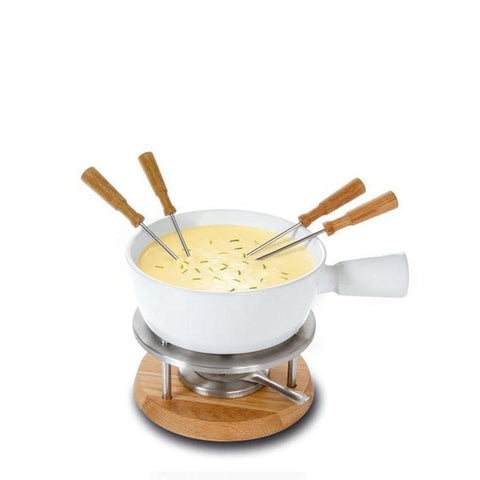 Boska Holland Fondue Set Bianco-Galena River Wine and Cheese