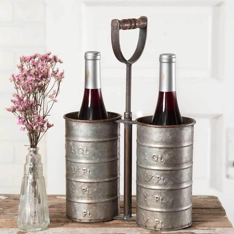 Bottle Caddy with Handle - Galena River Wine and Cheese